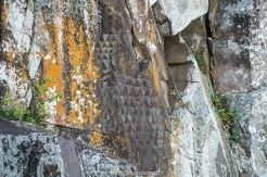 inscrições rupestres da ilha do campeche, em Florianópolis