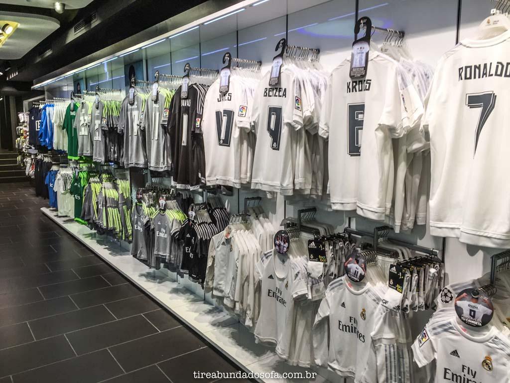 Loja oficial do Real Madrid, na Espanha