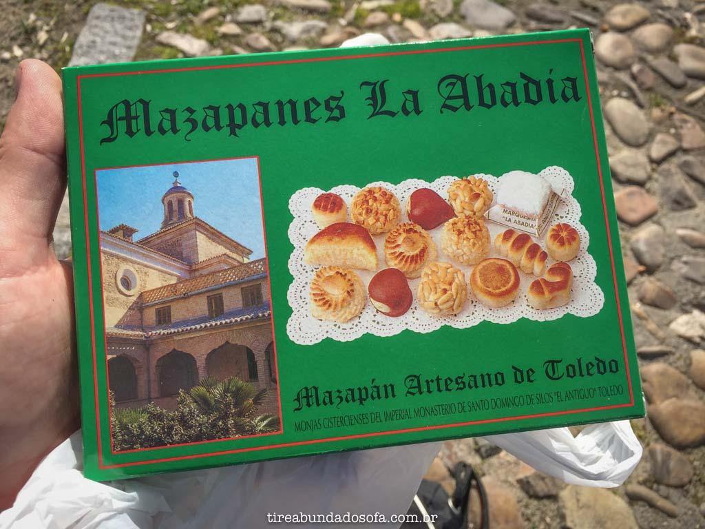 Diferentes tipos de Mazapán, em Toledo, Espanha