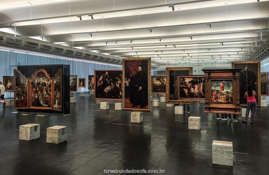 Exposição de arte no MASP