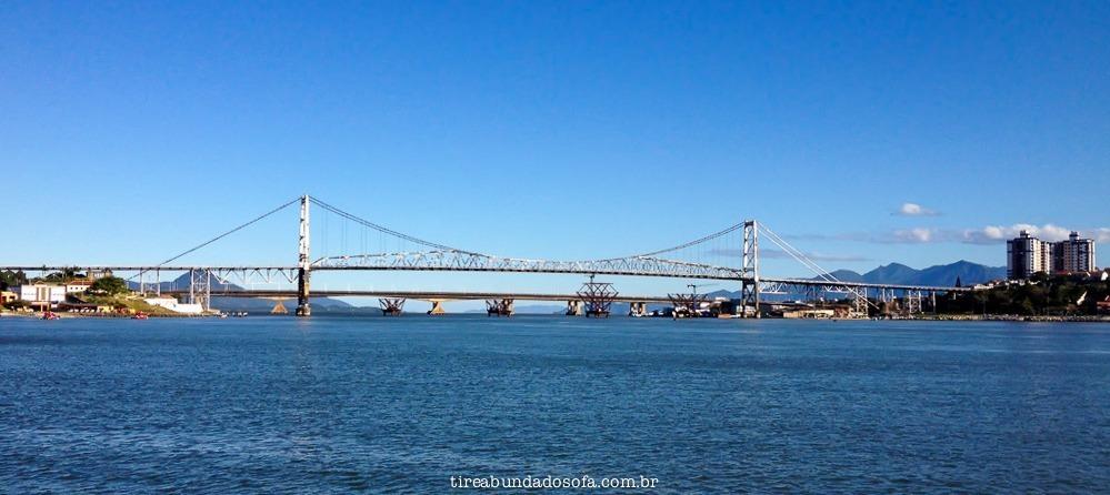 Ponte Hercílio Luz, florianópolis, santa catarina, brasil, entrada para a ilha da magia, o que fazer em Florianópolis