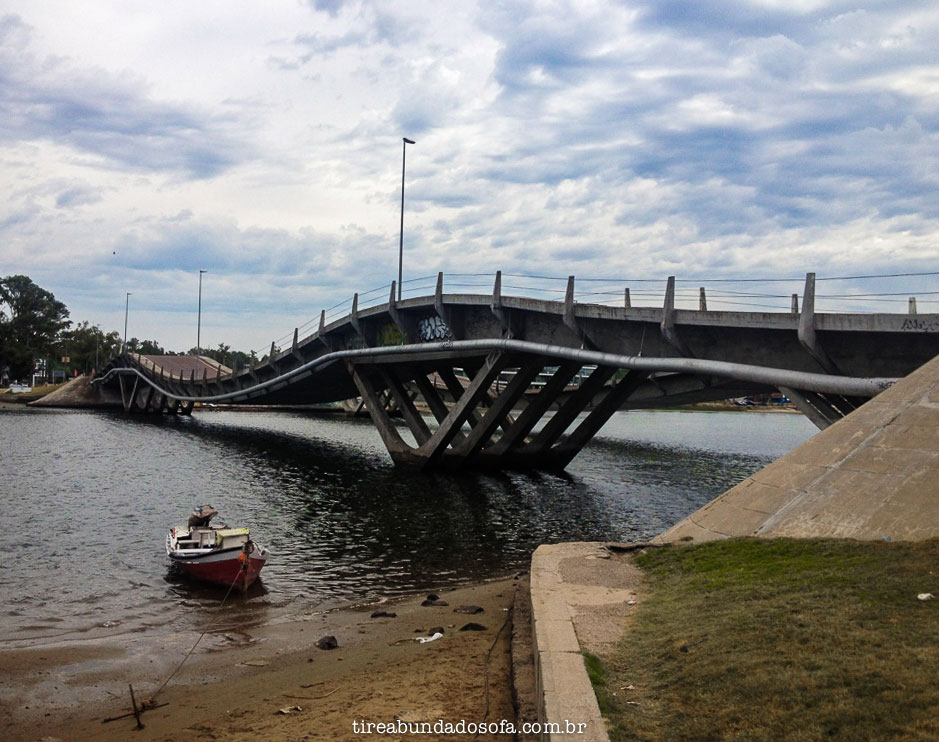 ponto turistico punta del este, ponte ondulada la barra, uruguai, o que fazer em Punta del Este