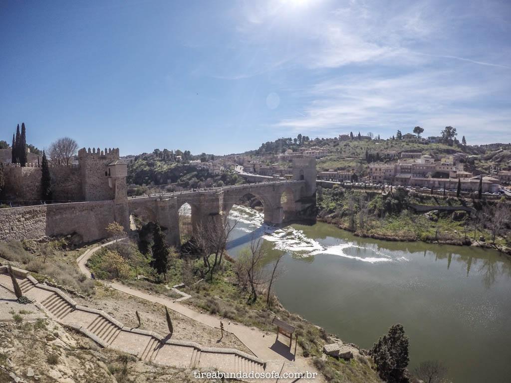 Ponte San Martin, em Toledo, Espanha