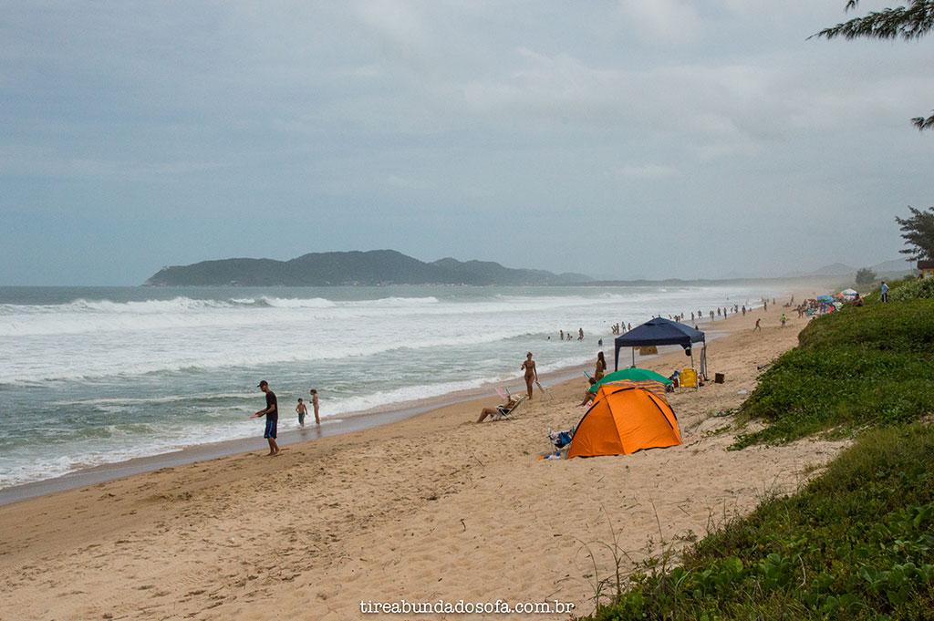 praia do moçambique em Florianópolis