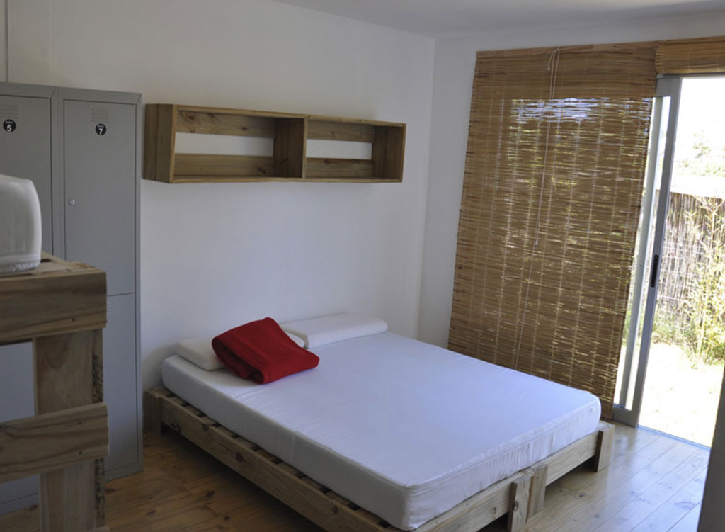 quarto da pousada Rojo y Negro, em Punta del Este, Uruguai