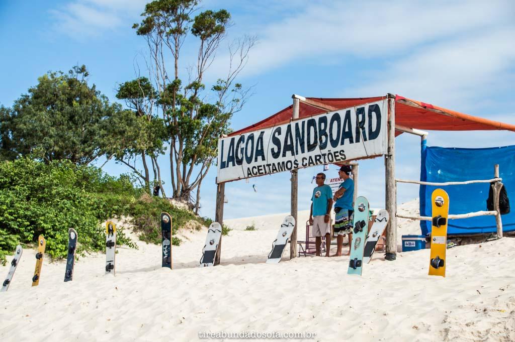 aluguel de prancha para sandboard, na lagoa da conceição, em florianópolis