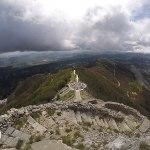 vista do parque nacional lovcen, montenegro, kotor