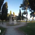 parque com vista para o mae em Split, Croácia
