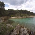Bene Beach, famosa praia de Split, Croácia