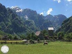 montanhas albanesas, alpes albânia, theth