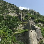 fortaleza de kotor, montenegro