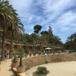 gaudí, park guell, barcelona, espanha