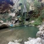 akchour, a cachoeira de chefchaouen, no marrocos
