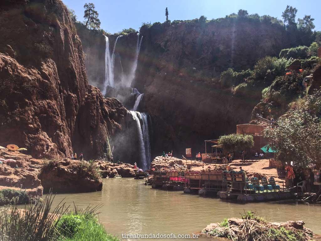 cascatas de ouzoud, A maior cachoeira do Marrocos