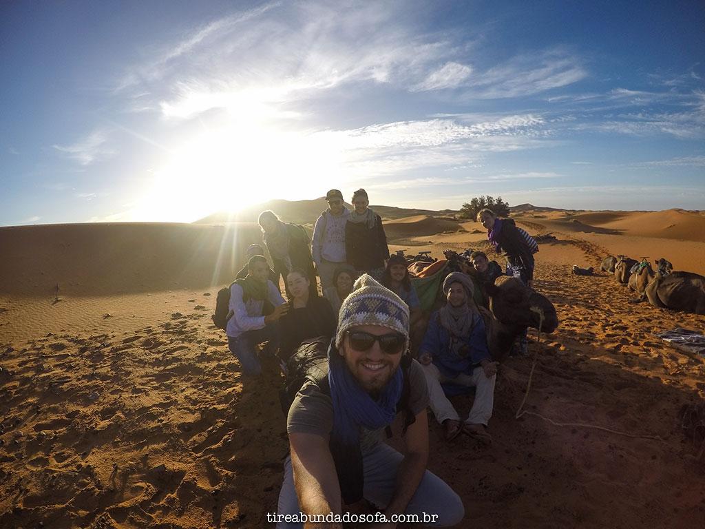 nascer do sol no deserto, deserto do sahara, acampar no deserto, tour pelo deserto no marrocos