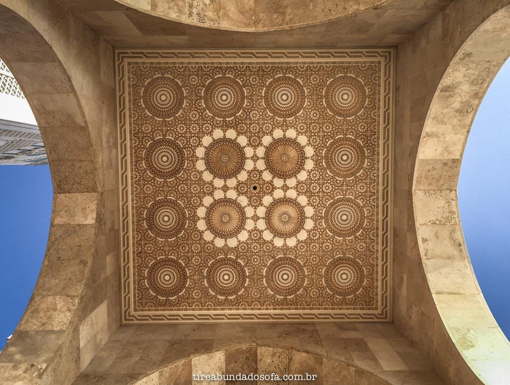 mesquita hassan II, casablanca, marrocos