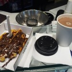 chocolate belga, chocolate quente, waffle, bruges, belgica
