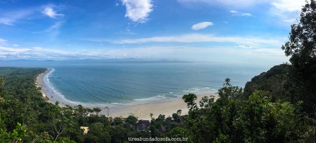 ilha do mel, vista panoramica, paraná, nova brasilia, forte da ilha do mel