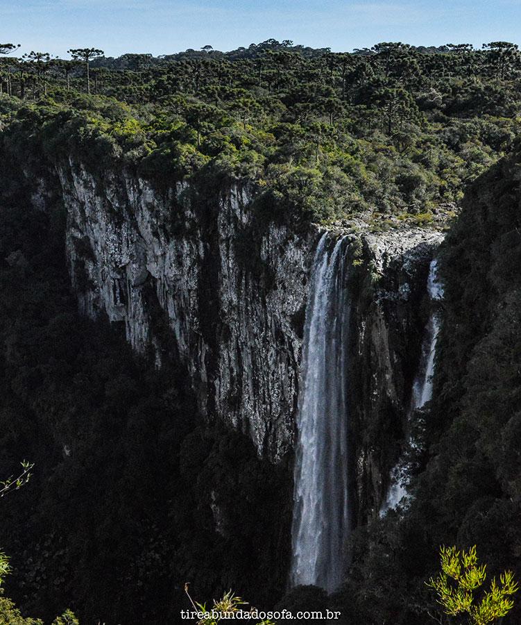 cachoeira das andorinhas cambará do sul, parque nacional dos aparados da serra, rio grande do sul, cânion itaimbezinho