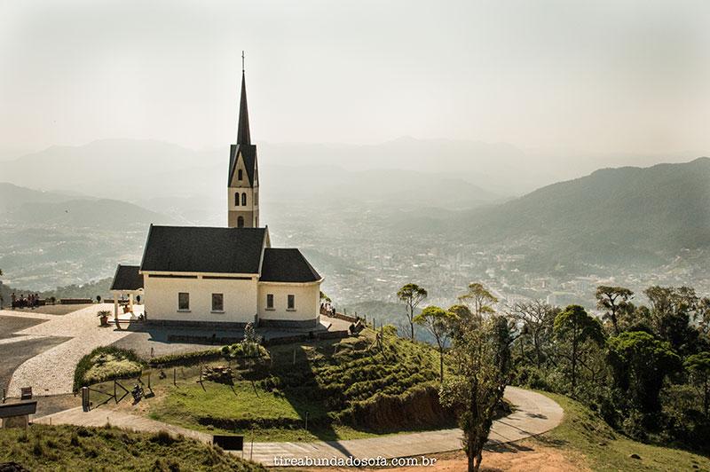 """Chiesetta Alpina a """"Igreja dos Alpes"""", O que fazer em Jaraguá do Sul"""