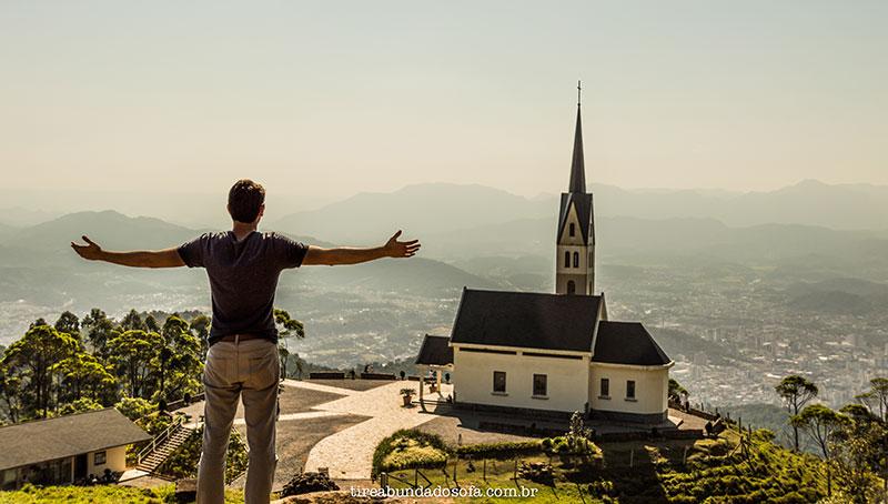 Chiesetta Alpina, Principal ponto turístico de Jaraguá do Sul