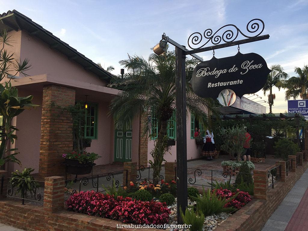 Restaurante Bodega do Zeca, em Nova Veneza