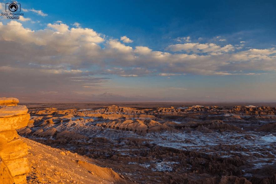 Valle de la Muerte, no deserto do Atacama, Chile