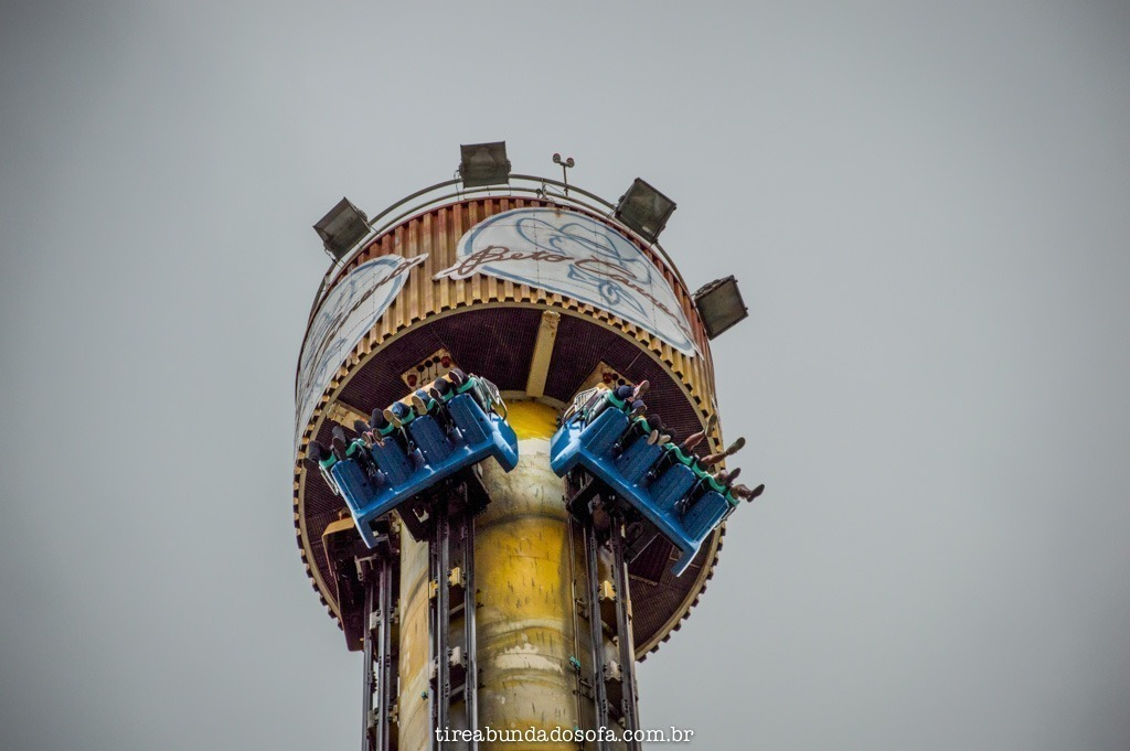big tower, no parque beto carrero world