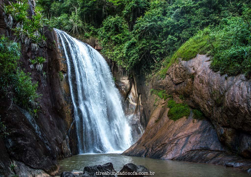 Cachoeira Moxafongo, em santa leopoldina, no espírito santo
