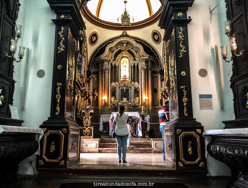 Altar do Convento da Penha, em Vila Velha, Espírito Santo