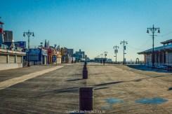 o calçadão de Coney island, em nova york