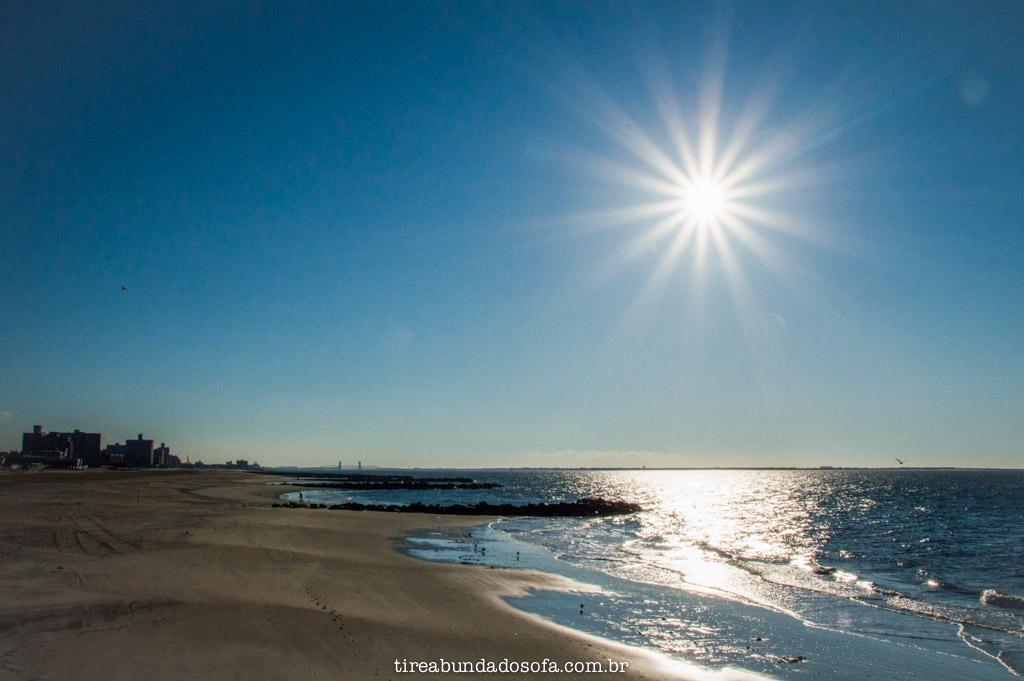 Praias incríveis em Coney Island, nova york
