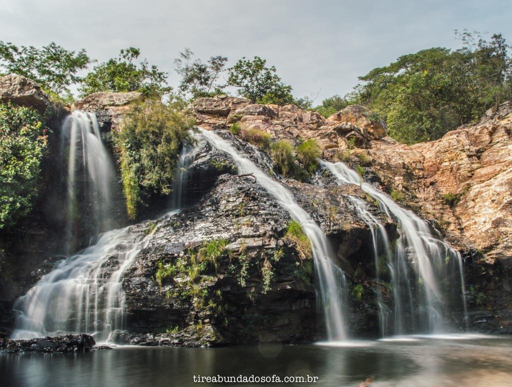 Cachoeira do Filó, em Capitólio, minas gerais