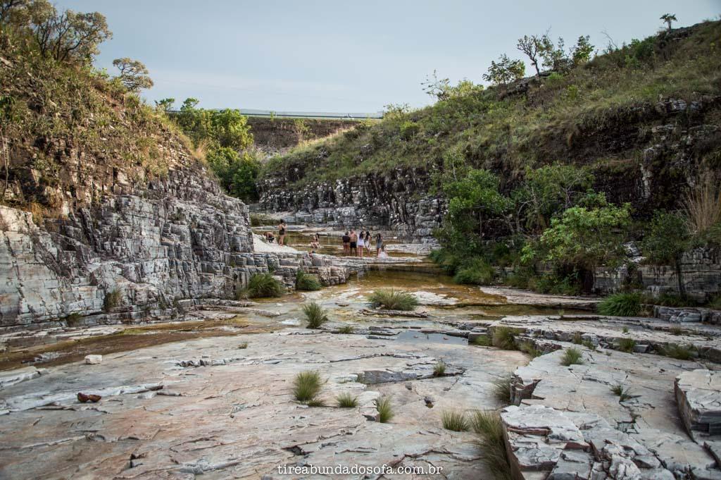Trilha para a Cachoeira Dicadinha, em capitólio