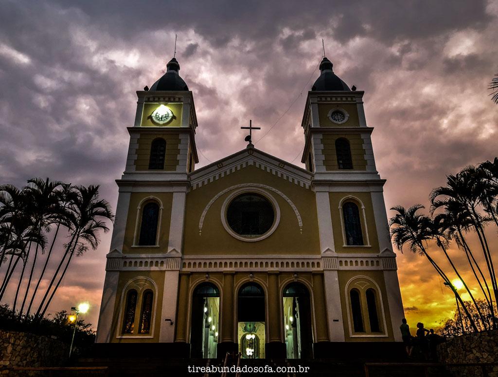 Igreja central de Capitólio, minas gerais
