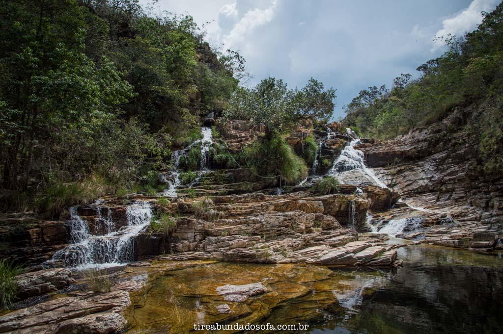 Terceira Cachoeira do Paraíso Perdido, em Capitólio, Minas Gerais