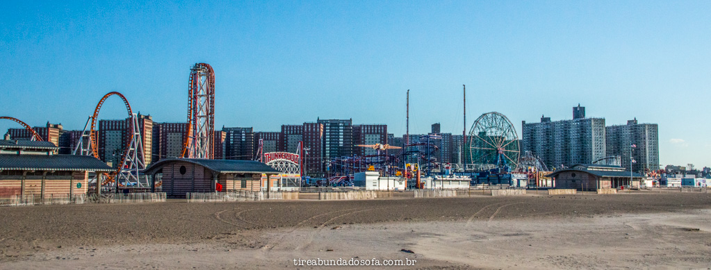 Coney Island, em nova york