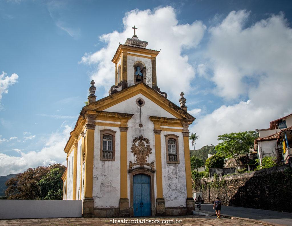 Igreja de Nossa Senhora das Mercês e Misericórdia, em Ouro Preto, Minas Gerais
