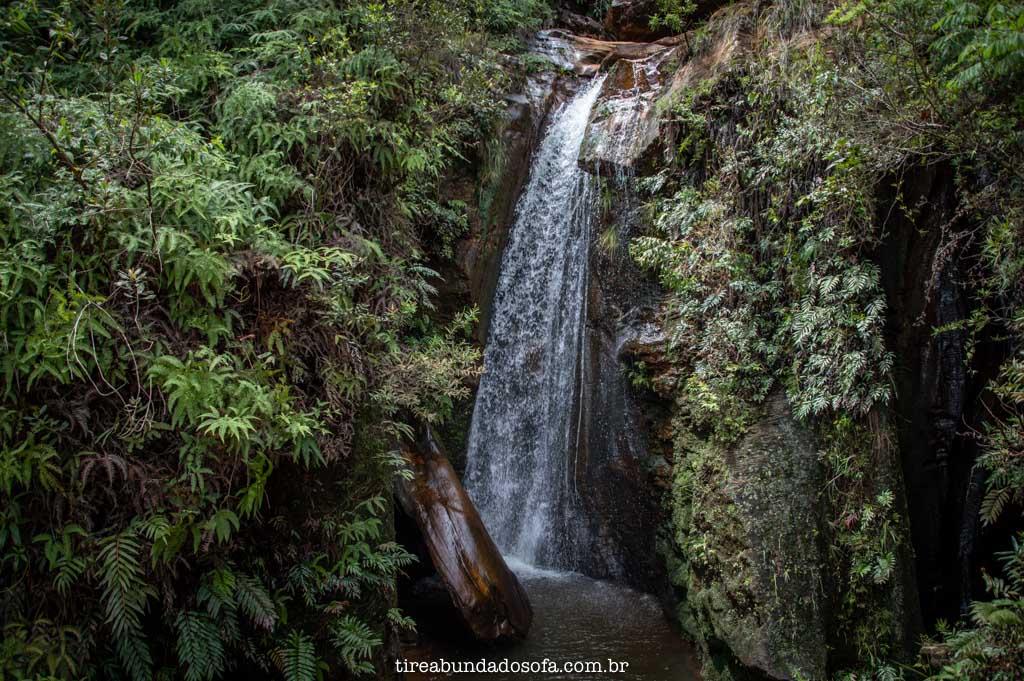 Cachoeira dos Pelados, no Parque das Andorinhas, em Ouro Preto, Minas Gerais