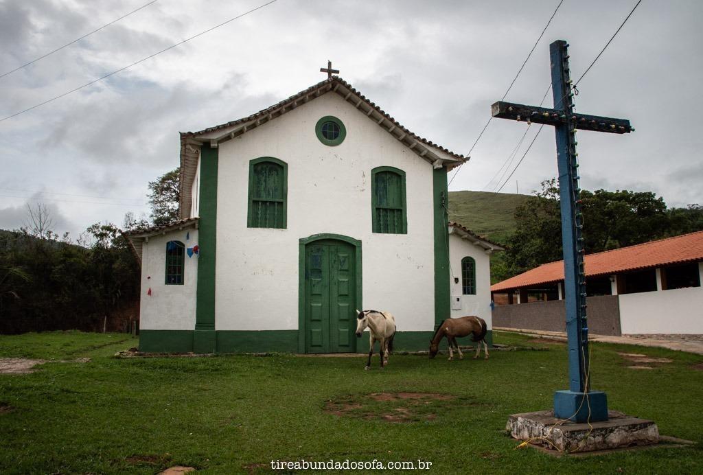 Igreja de São Bartolomeu, em Ouro Preto, Minas Gerais