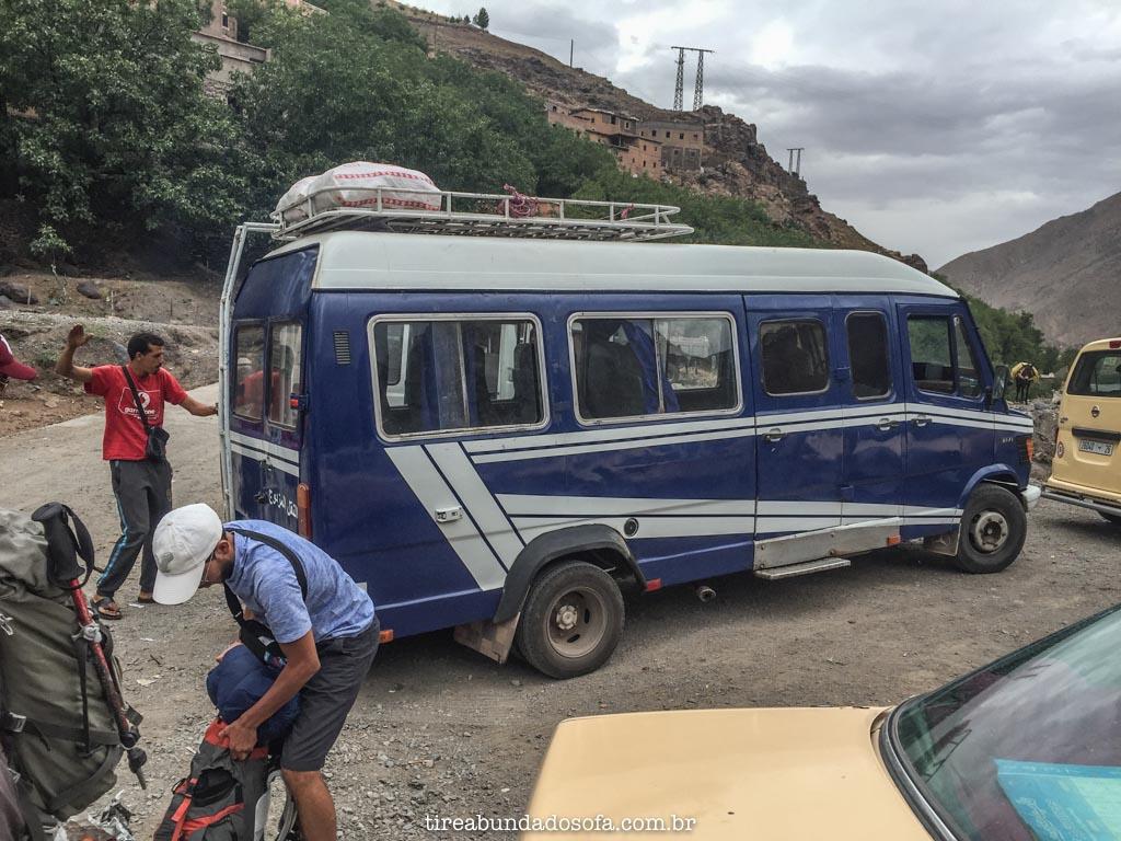 transporte no marrocos