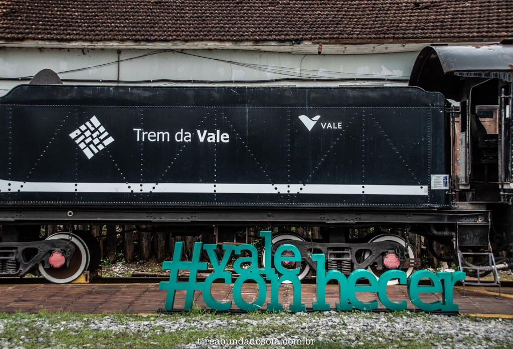 Trem da Vale, entre Ouro Preto e Mariana
