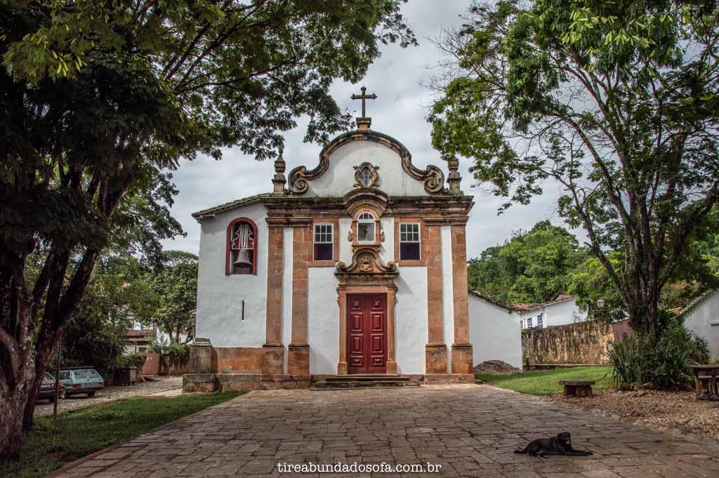 Igreja dos Pretos, em Tiradentes, Minas Gerais