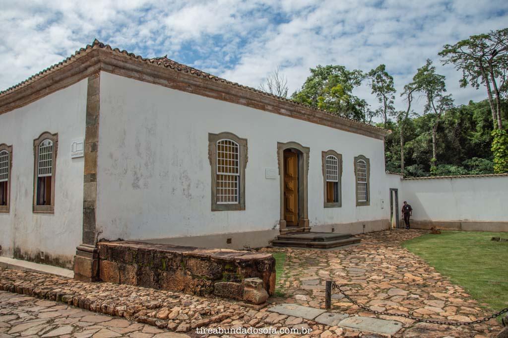 Fachada do Museu Padre Toledo, em Tiradentes, Minas Gerais