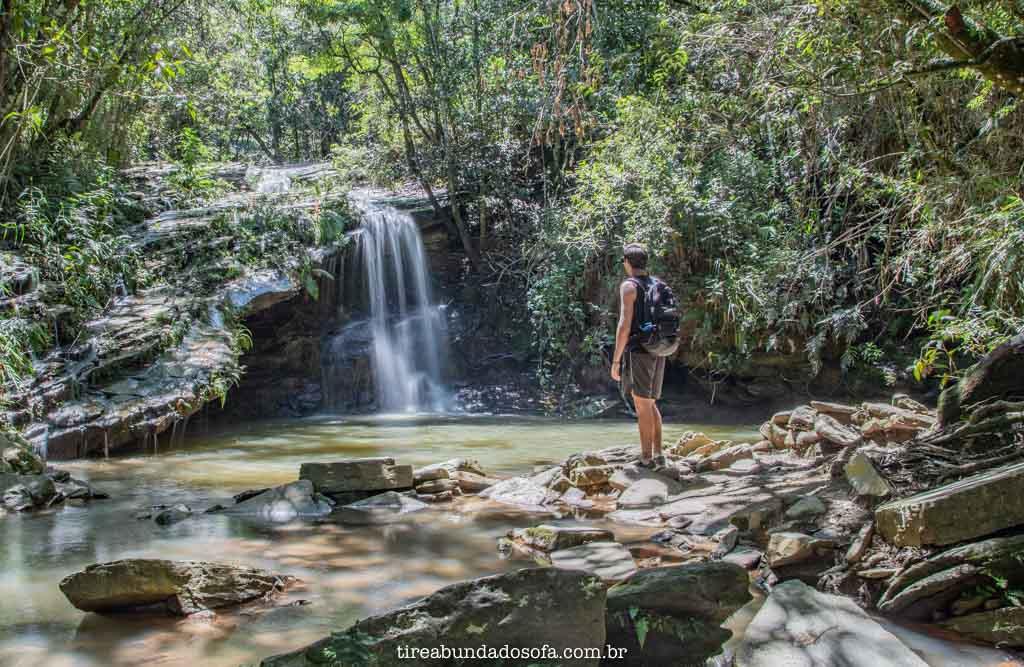 Cachoeira do Escorregador, em Carrancas MG