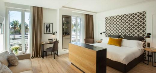 Quarto do Hotel The Serras, em Barcelona
