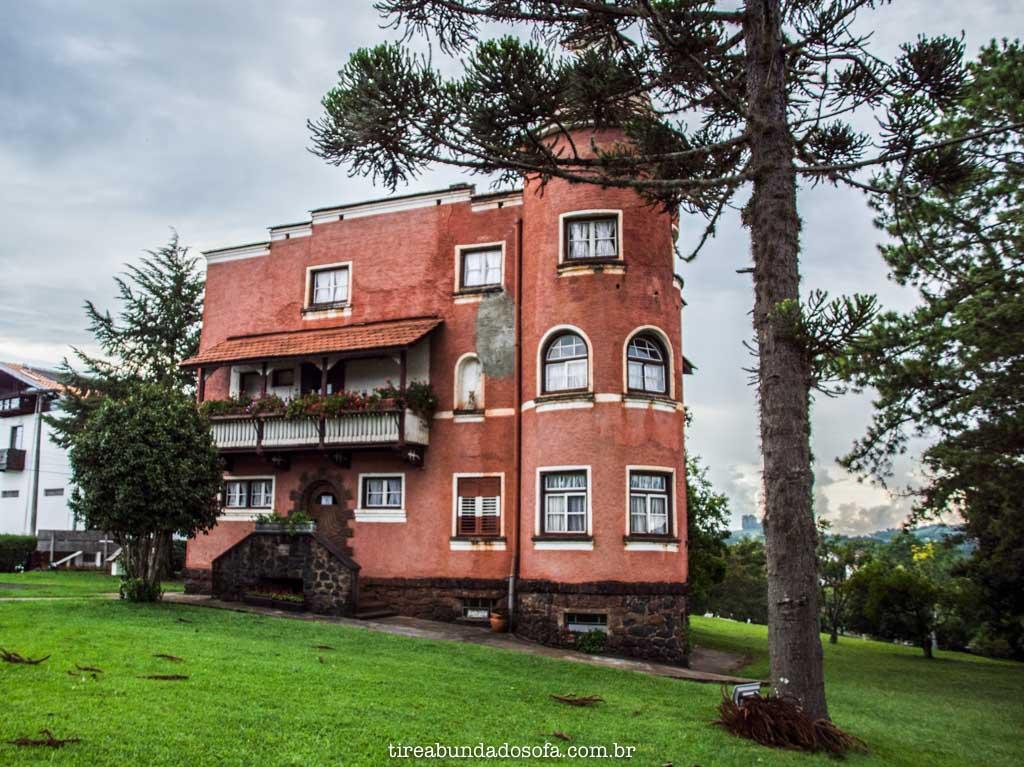 Museu Andreas Thaler, em Treze Tílias, Santa Catarina