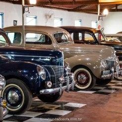Coleção de carros do Museu do Automóvel da Estrada Real, em Bichinho, Minas Gerais