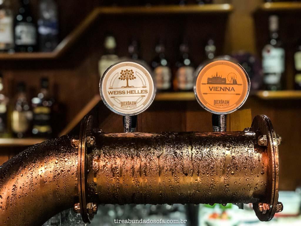 Cervejas especiais Bierbaum, em Treze Tílias, Santa Catarina