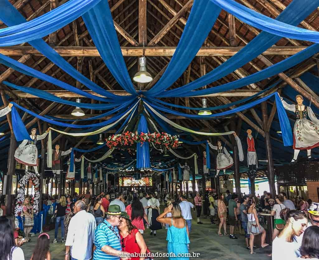 Festa Pomerana, em Pomerode, Santa Catarina